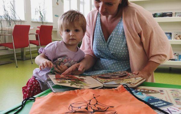 Bookstart - setkání rodičů s malými dětmi do 6 let